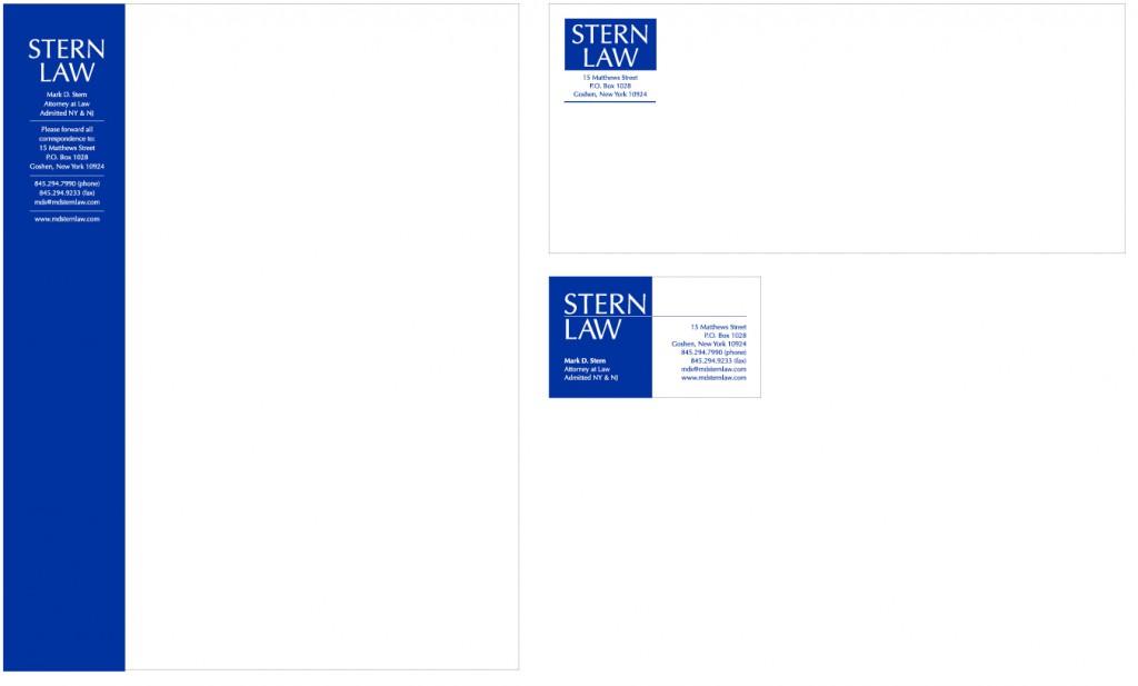 Stern Law Stationery Set