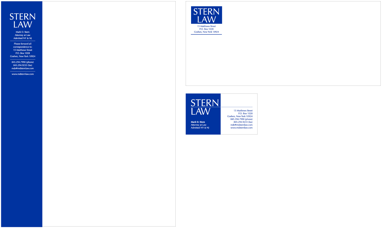Stern Law Stationery Set