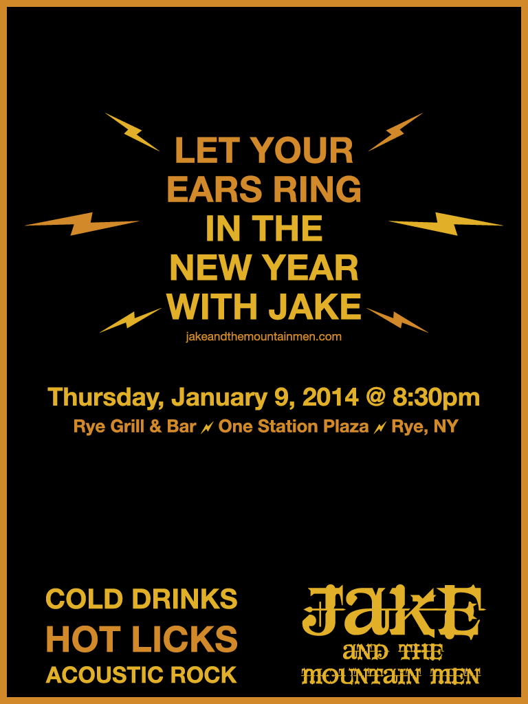 Let Your Ears Ring in the New Year with Jake