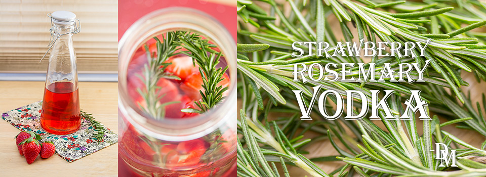 DM Strawberry Rosemary Vodka Banner