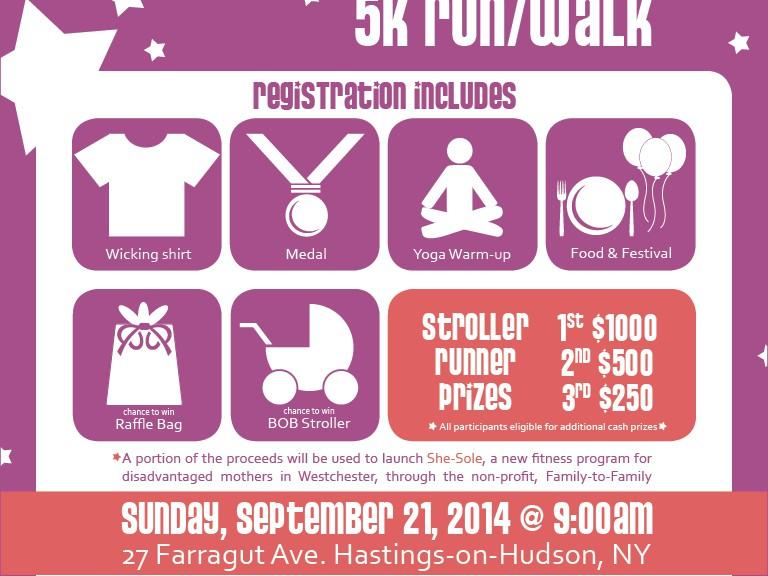 2014 Rivertown Strollerderby 5K Run/Walk Flyer