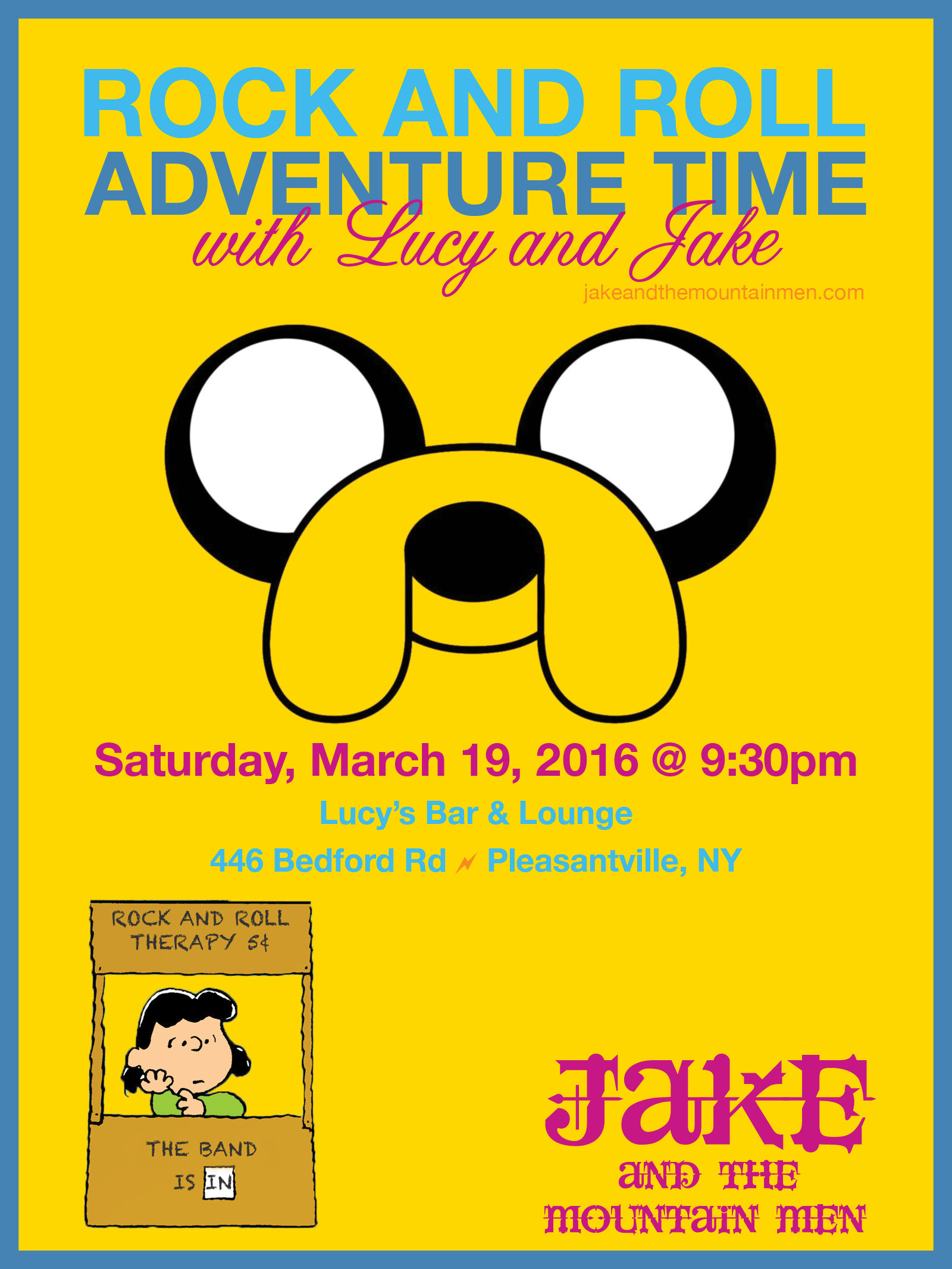 Rock and Roll Adventure Time with Lucy and Jake