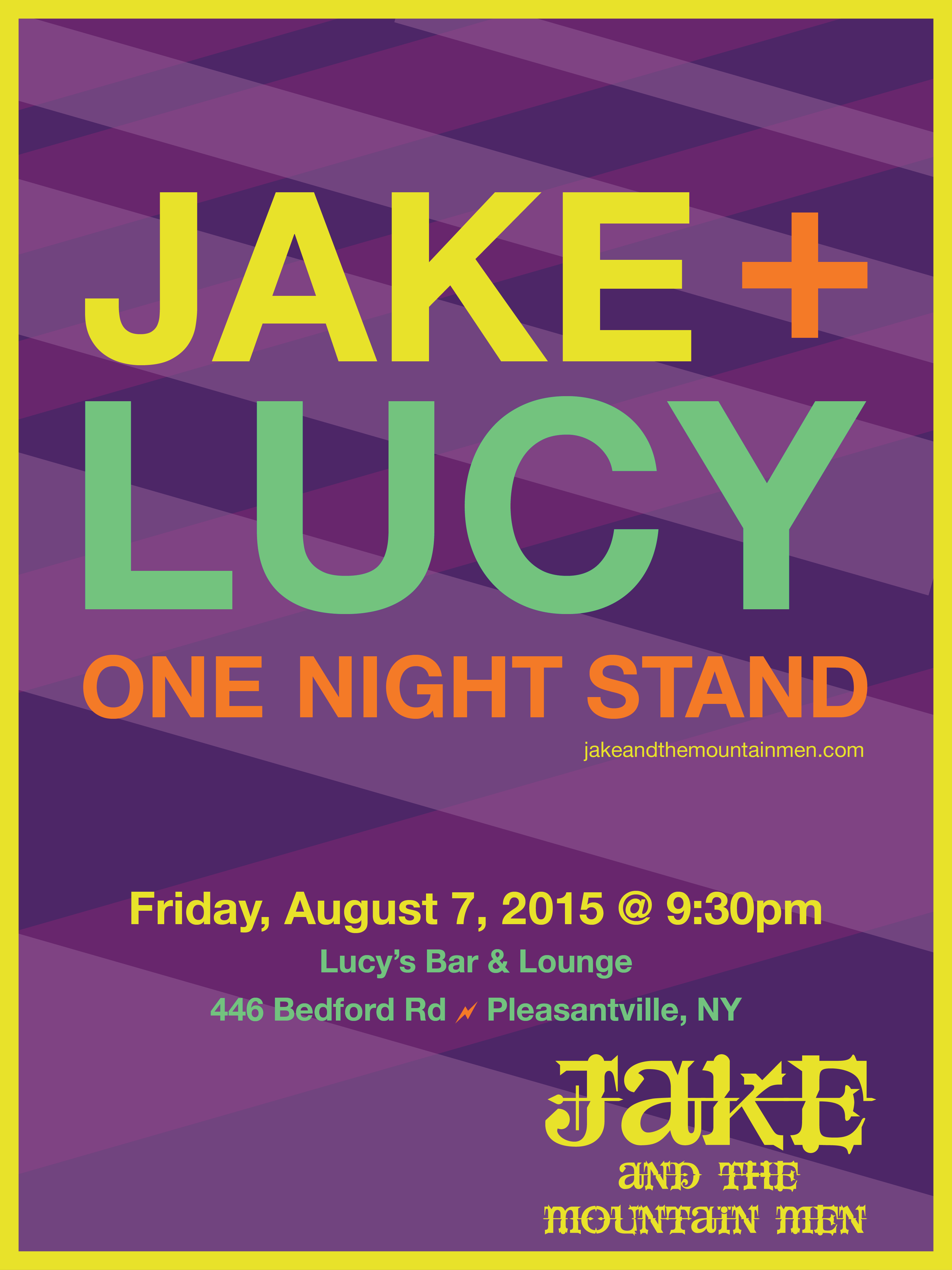 Jake + Lucy One Night Stand